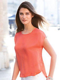 Peter Hahn - Blouse top with drop shoulders