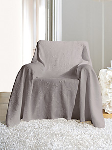 Peter Hahn - Caressingly soft armchair wrap, approx. 55x83 ins.