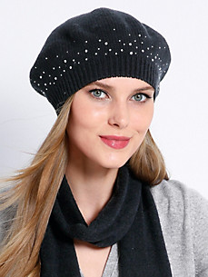 Peter Hahn Cashmere - Beret in 100% cashmere