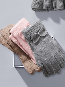 Peter Hahn Cashmere - Knitted gloves