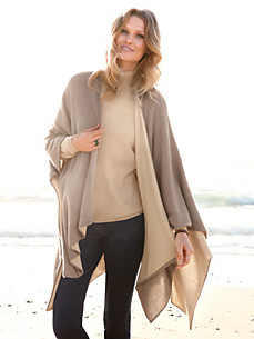 Peter Hahn Cashmere Nature - Cape in 100% cashmere