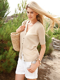 Peter Hahn Cashmere Nature - Cardigan in 100% cashmere