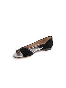 Peter Hahn exquisit - Peep-toe ballerina pumps