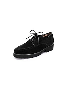 Peter Hahn exquisit - winter-warm lambskin lace-ups