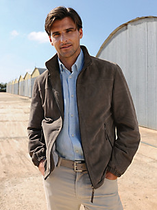 Peter Hahn - Leather bomber jacket