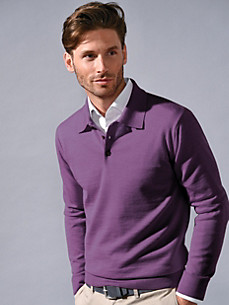 Peter Hahn - Polo jumper in 100% new wool - Design ACHIM