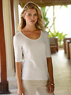 Riani - Round neck top with 1/2-length sleeves