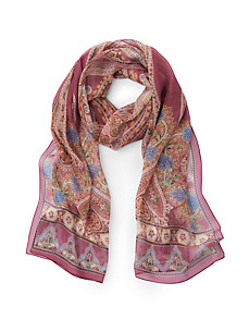 "Roeckl - Scarf ""Poetry Paisley"" in 100% silk"