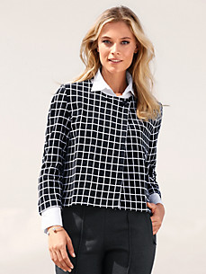 Rössler Selection - Jersey jacket with 7/8-sleeves