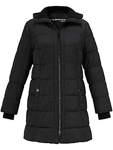 Samoon - Quilted coat with hood