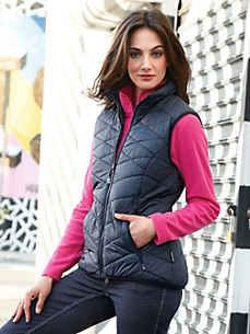 Schöffel - Zip-in quilted gilet with VENTLOFT padding