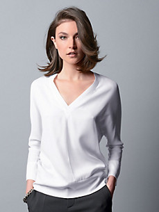 Strenesse - Blouse top with 3/4-length sleeves