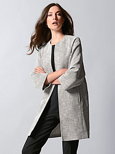 Strenesse - Coat with 3/4-length sleeves