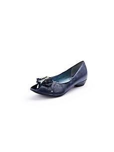Think! - Peep toe ballerina pumps