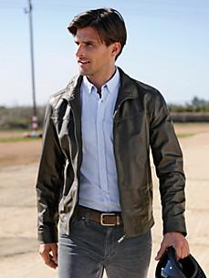 TRAPPER - Glove-soft lamb nappa leather jacket