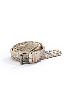 Uta Raasch - Braided belt made from top-quality leather bands