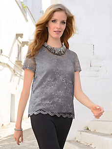 Uta Raasch - Lace blouse with 1/2-length sleeves