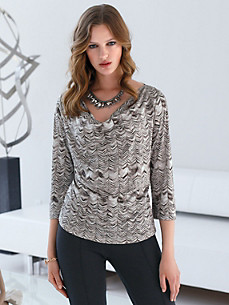 Uta Raasch - Top with 3/4-length sleeves