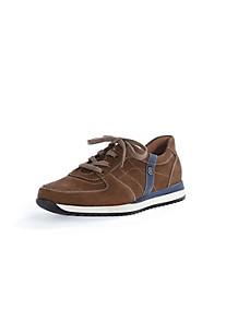 Waldläufer - Cowskin nubuck leather trainers