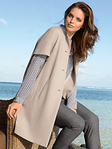 Windsor - Coat with short sleeves