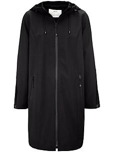 zizzi - Long softshell jacket with hood