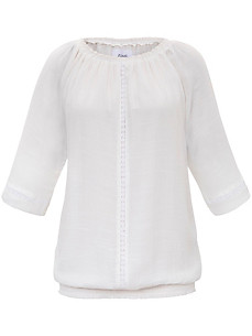 zizzi - Round neck blouse with embroidery