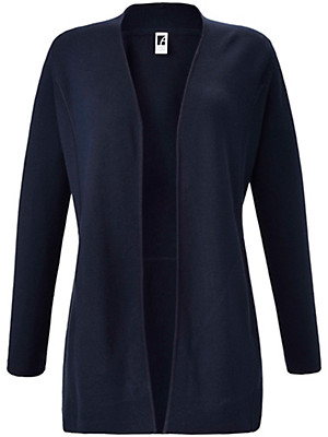 Anna Aura - Cardigan in 100% new milled wool