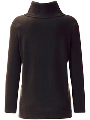 Anna Aura - Roll neck jumper in 100% cashmere