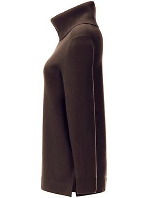 Anna Aura - Roll neck jumper in 100% cashmere