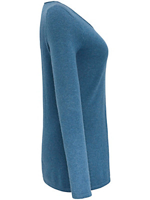 Anna Aura - Round neck pullover in 100% cashmere
