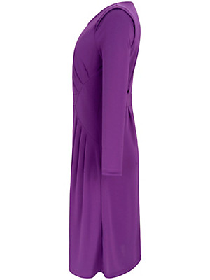 Anna Scholz for sheego - Jersey dress with a round neckline