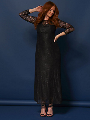 Anna Scholz for sheego - Lace maxi dress