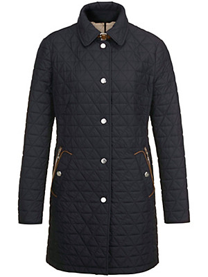 Basler - Long quilted jacket