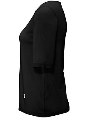 Basler - Round neck jumper in 100% wool
