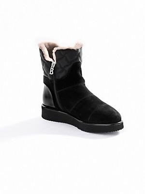Bogner - Calfskin suede ankle boots