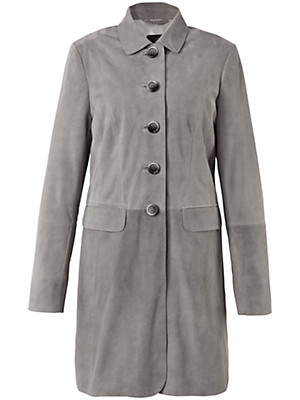 Emilia Lay - Leather frock coat