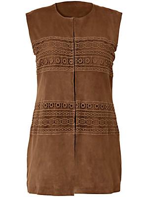 Emilia Lay - Leather waistcoat