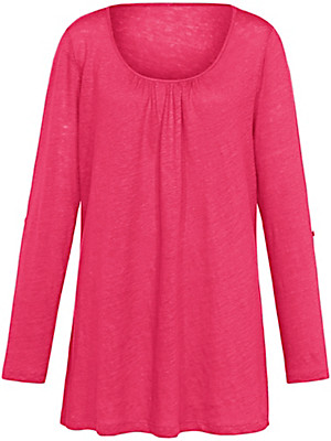 Emilia Lay - Round neck top with long sleeves