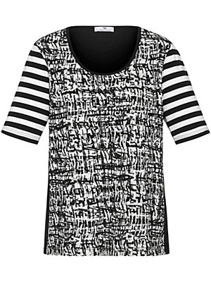 Emilia Lay - Round neck top with short sleeves