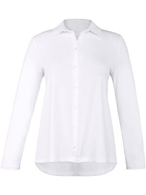 Emilia Lay - Unicoloured jersey blouse