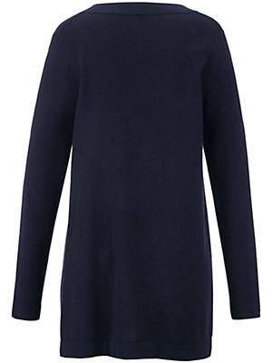 Emilia Lay - V neck jumper in 100% cashmere