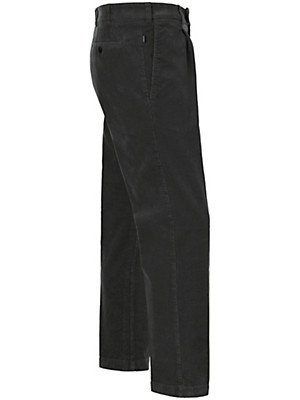 Eurex by Brax - Corduroy waist pleat trousers – LUIS
