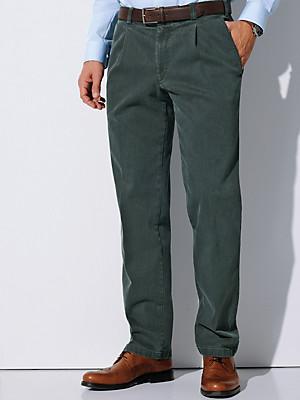 Eurex by Brax - Waist pleat jeans made from coloured denim