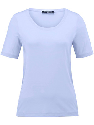 Fadenmeister Berlin - Round neck top with long 1/2-length sleeves