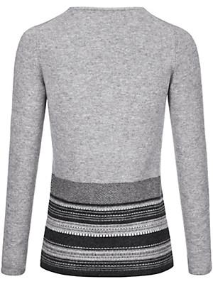 Fadenmeister Berlin - V-neck jumper in 100% cashmere
