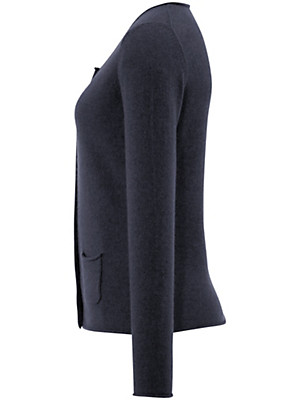 FLUFFY EARS - Cardigan in 100% cashmere