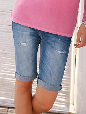 FLUFFY EARS - Denim shorts