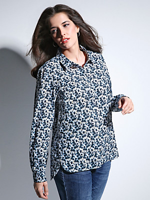 FRAPP - Blouse in 100% cotton