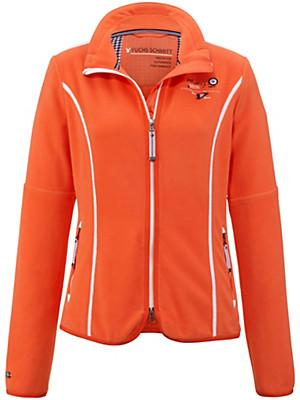 fuchs schmitt fleece jacket orange. Black Bedroom Furniture Sets. Home Design Ideas