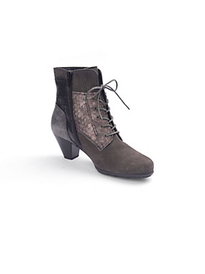 "Gabor - Lace-up ankle boots with a ""Hovercraft"" effect"